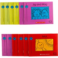 Bob Books - Set 1: Beginning Readers Box Set | Phonics, Ages 4 and up, Kindergarten (Stage 1: Starting to Read)