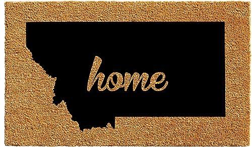 Calloway Mills 105302436 Montana Doormat, 24 x 36 , Natural Black
