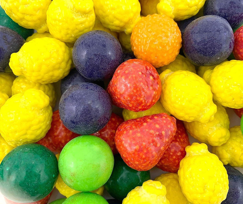 LaetaFood Concord Dubble Bubble Seedlings Bubble Gum Candy, 6 Fruit Flavor Candy (3 Pound Bag)