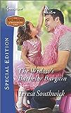The Widow's Bachelor Bargain (The Bachelors of Blackwater Lake)