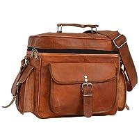 Gusti Cuir nature sac d'appareil photo en cuir sac caméra en cuir de chèvre véritable sac à bandoulière en cuir sac de transport cuir marron M102b