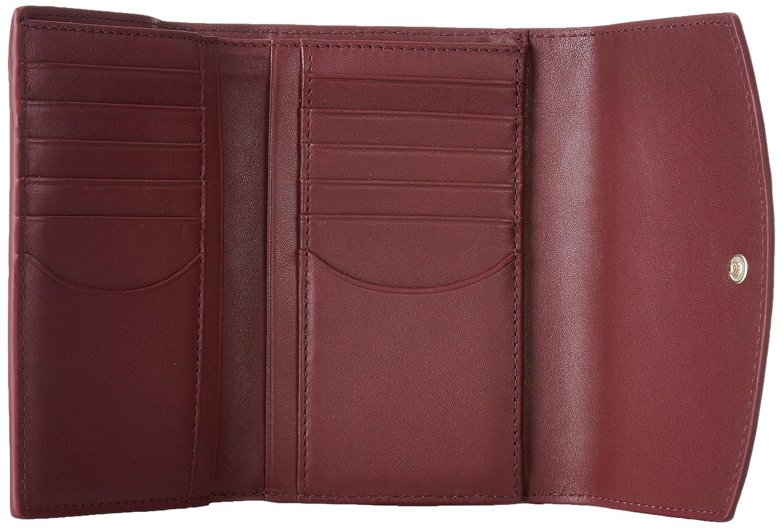 Skagen Denmark Skagen Compact Flap Wallet, Portefeuilles femme, Braun (Tan), 1.6x10.5x15 cm (B x H T)