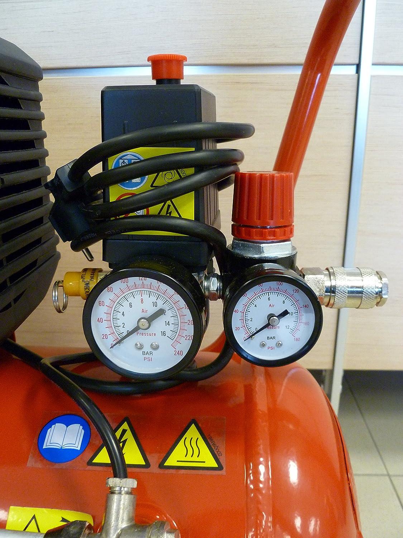 Amico 23050 25 litri Compressore 25//2400 1.5 kW Fini Compressors