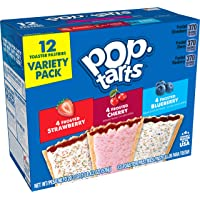 Pop-Tarts, Breakfast Toaster Pastries, Variety Pack, Proudly Baked in the USA, 20.3oz Box (1 Pack 12 Count)