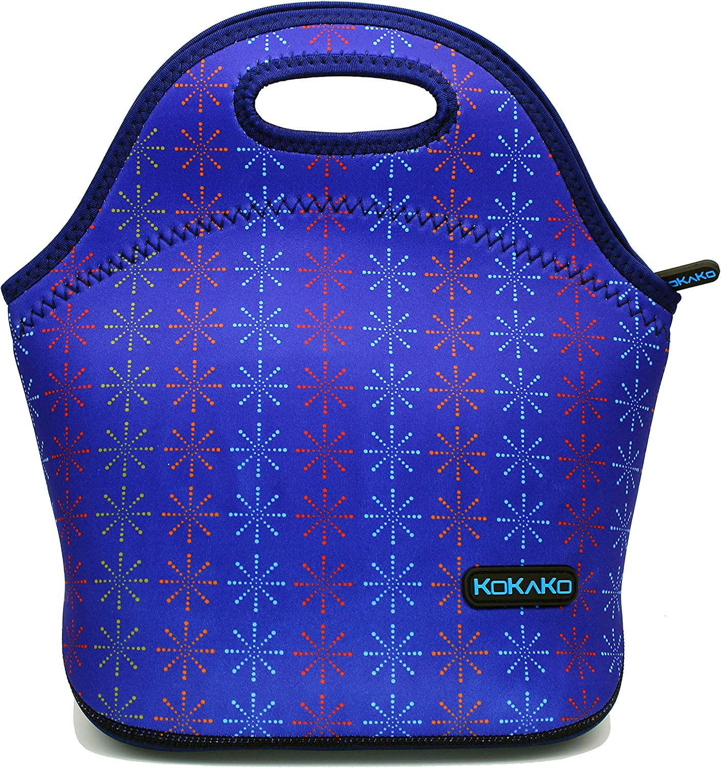 Lunch Bags For Women Neoprene Lunch Box By KOKAKO Washable Insulated Tote for Kids