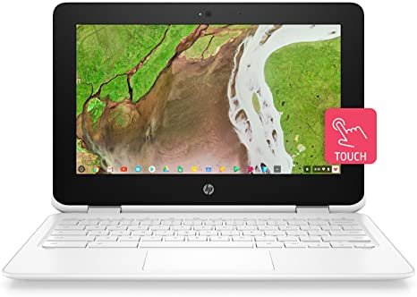 HP 2-in-1 Convertible Chromebook 11 6 HD IPS Touchscreen, Intel Celeron  N3350 Processor, 4GB Ram 32GB SSD, Intel HD Graphics, Wi
