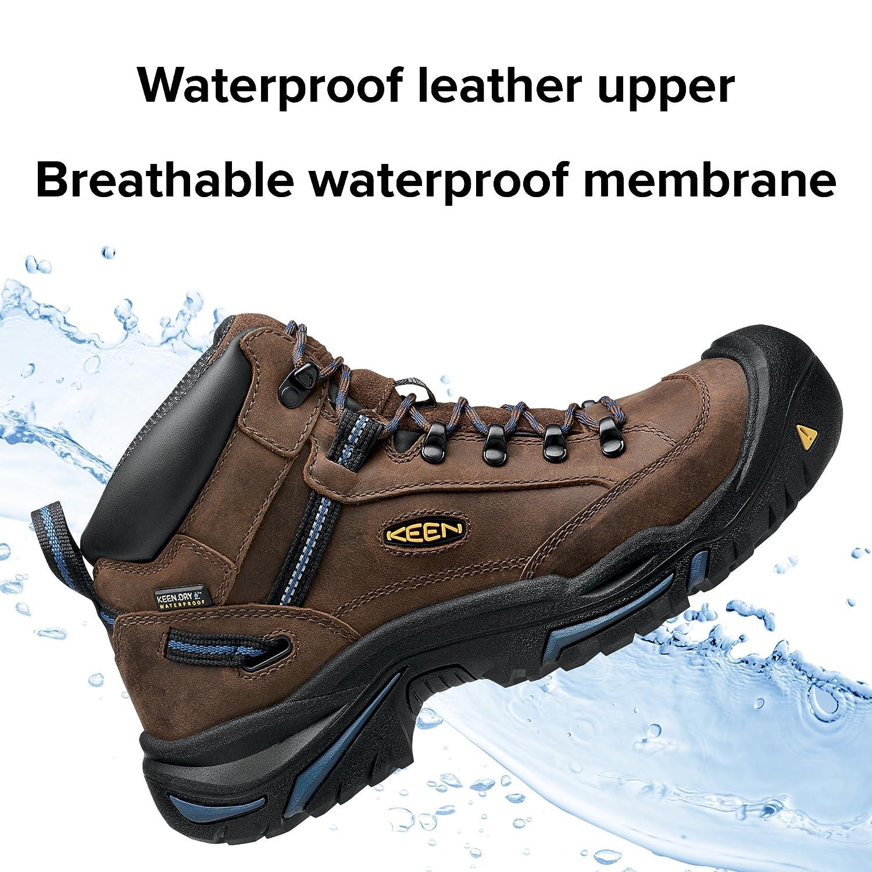 Waterproof Work Boot Keen Utility KEEN Utility Steel Toe US Shoes 1012771-P Mens Braddock Mid