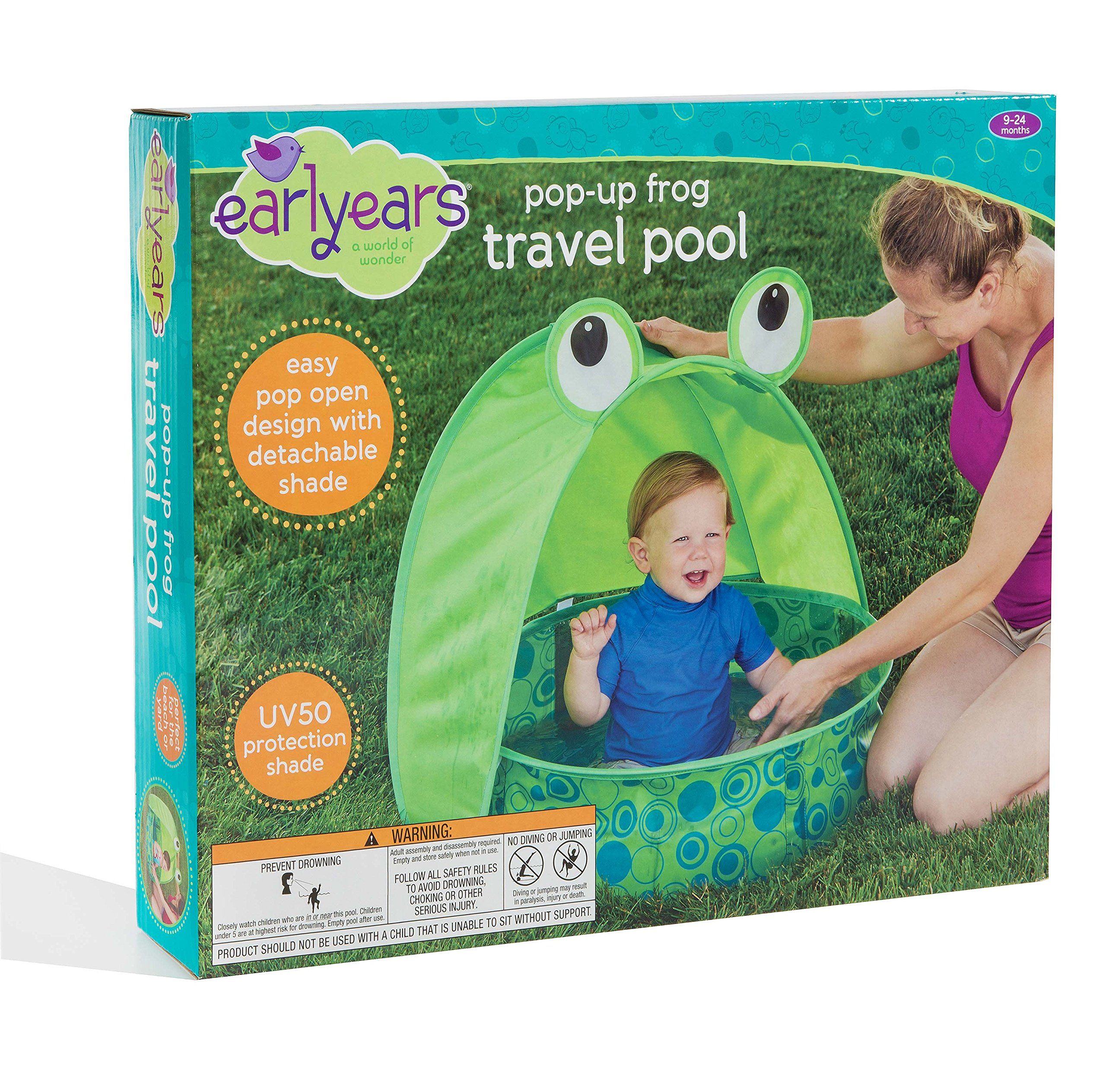 Pop-Up Frog Travel Pool by Early Years (Image #1)