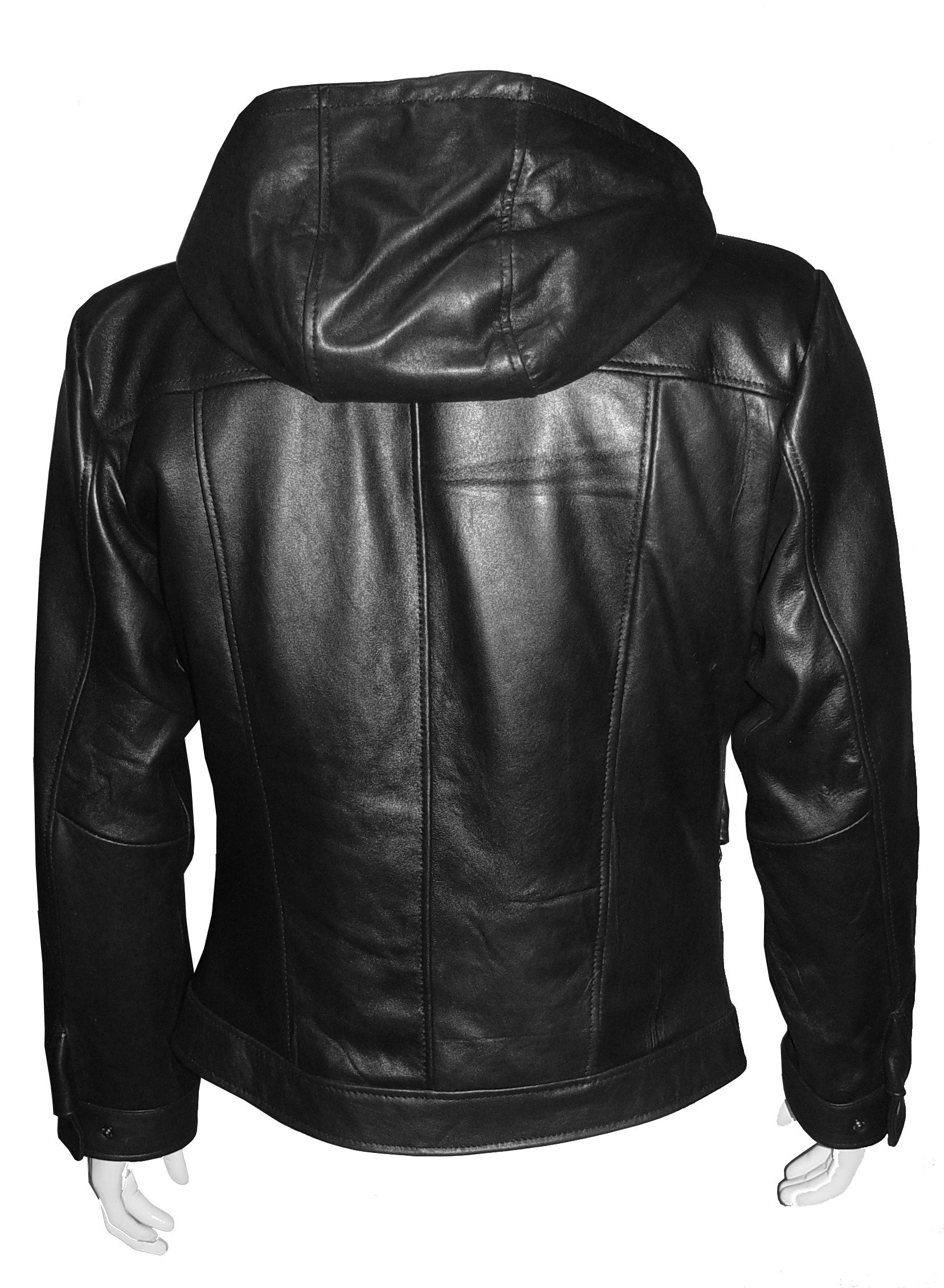 Nettailor Tall Big Man 1085 BIG TALL Size 4 Season Leather Jacket Zip Out by NETTAILOR (Image #6)