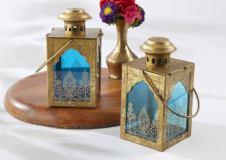 Amazon.com: Kate Aspen Indian Jewel Lantern: Home & Kitchen