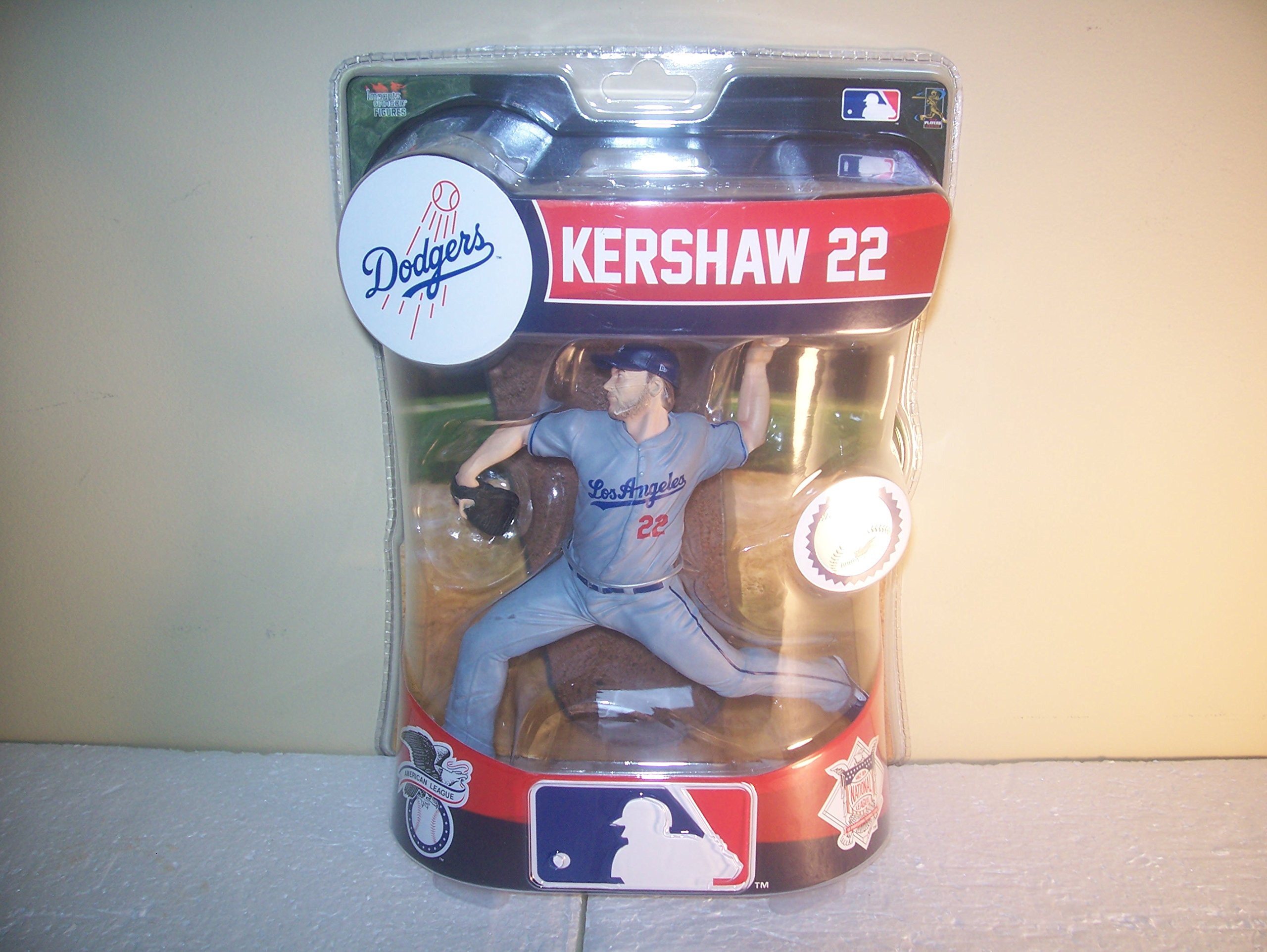 Clayton Kershaw Los Angeles Dodgers Imports Dragon Baseball figurine