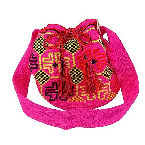 es Original Wayuu Mochila Guajira De Y Zapatos Complementos La Amazon Auténtica x6F0wq
