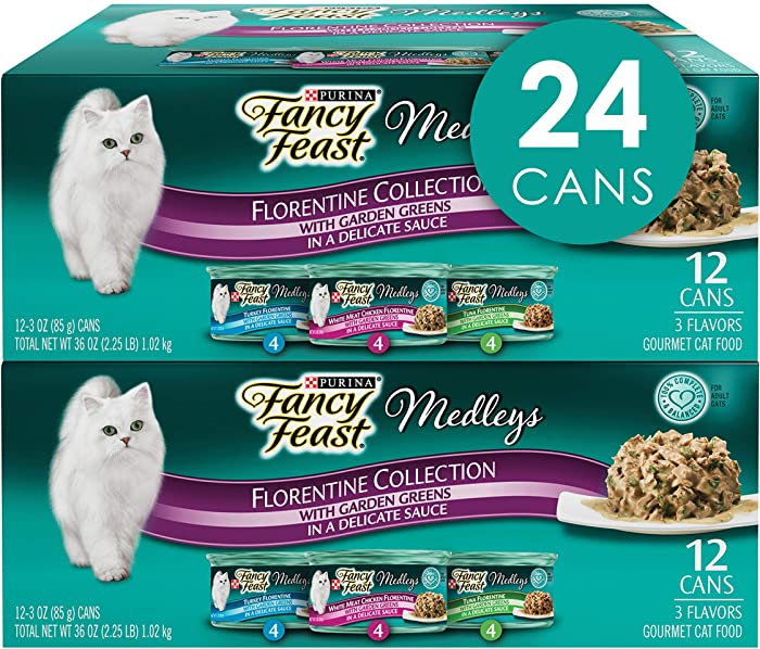 Top 9 Fancy Feast Wet Cat Food Florentine