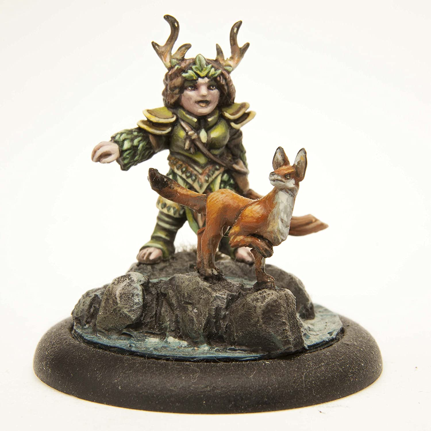 Stonehaven Dwarf Druid Miniature Figure (for 28mm Scale Table Top War  Games) - Made in USA