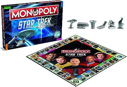 Monopoly Star Trek Continuum Edition Family Board Game (Versión Inglesa): Amazon.es: Juguetes y juegos