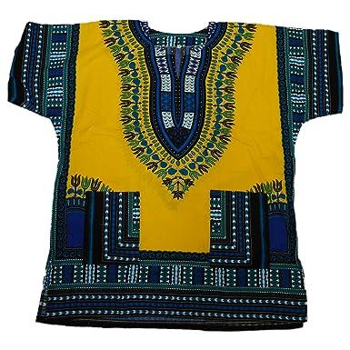 ThaiUK Dashiki Shirt – Viele Farben erhältlich Gr. One Size, ...