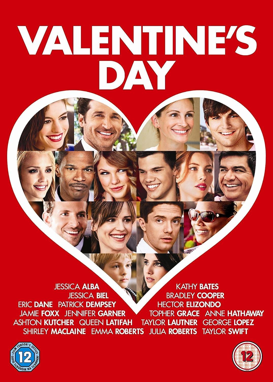 Schön Valentineu0027s Day [DVD] [2010]: Amazon.co.uk: Julia Roberts, Bradley Cooper,  Jennifer Garner, Jessica Biel, Patrick Dempsey, Eric Dane, Jessica Alba, ...