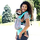 SIX-Position, 360° Ergonomic Baby & Child Carrier by LILLEbaby - The COMPLETE All Seasons (Turquoise w/Silver Arrow)