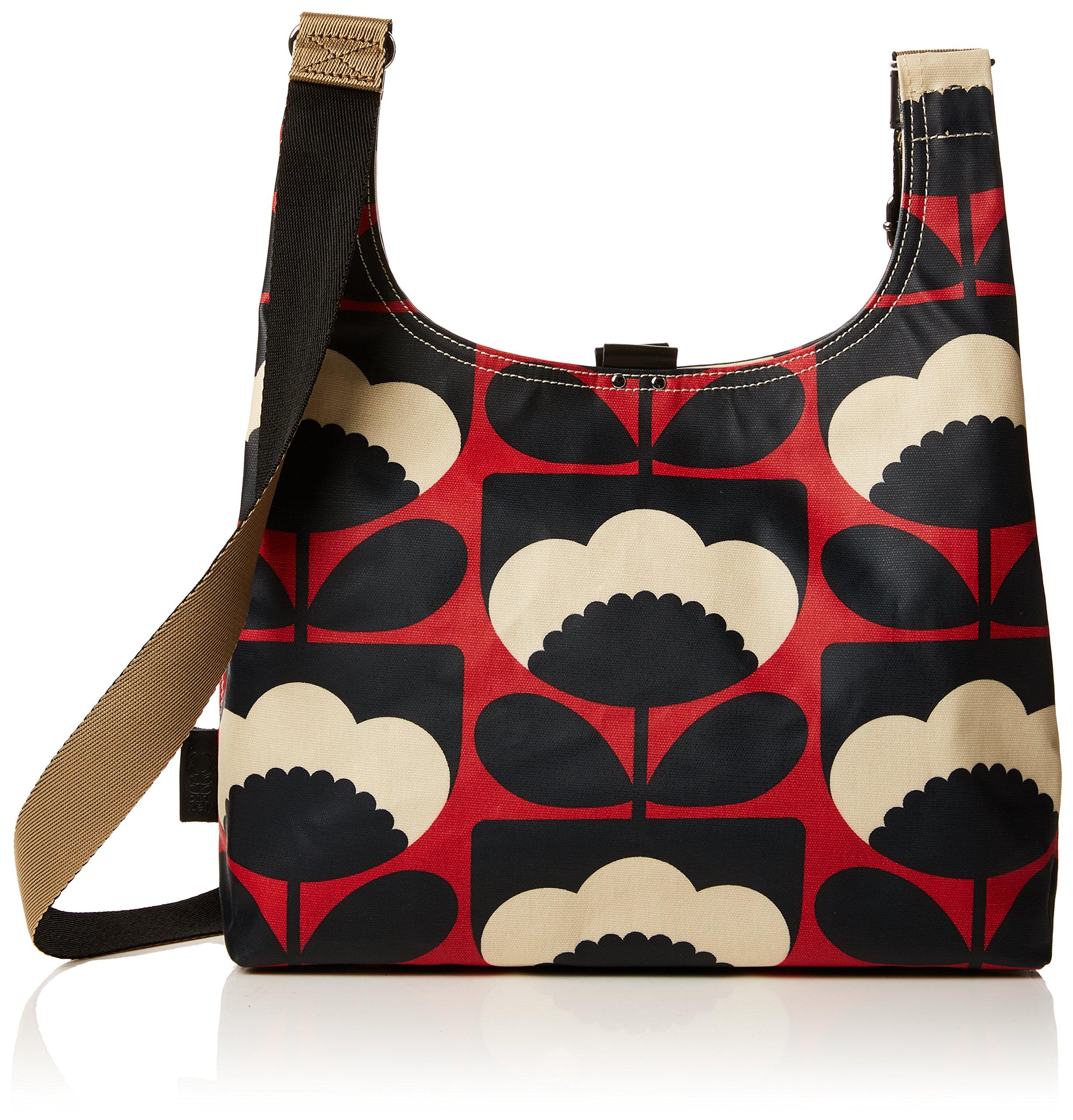 Orla Kiely Spring Bloom Midi Sling Bag, Poppy