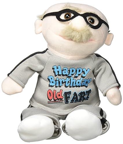 Amazon Com Chantilly Lane 9 Old Fart Sing Happy Birthday Plush