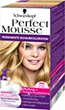 Perfect Mousse permanente Schaumcoloration, 940 Sand Blond, 3er Pack (3 x 93 ml)