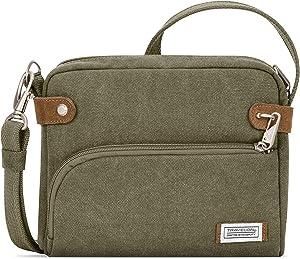Travelon Anti-Theft Heritage Small Crossbody Bag: Sage