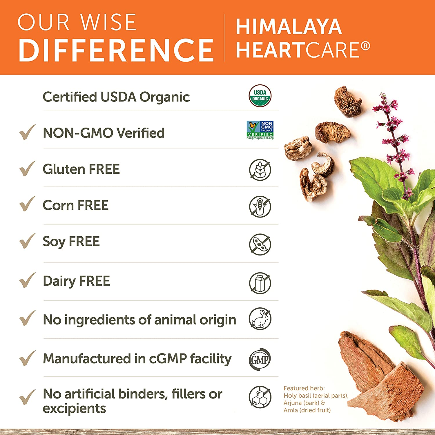 Amazon.com: Himalaya Herbal Healthcare HeartCare/Abana ...