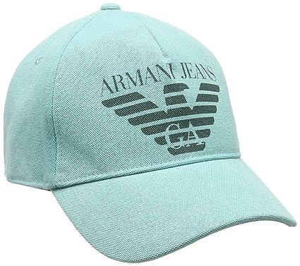 Armani Jeans 9340507P723, Casquette de Baseball Homme, Vert (VERDINO), Taille  Unique 597839e7bda