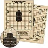 """Rite in the Rain Weatherproof 8.5"""" x 11"""" Multipurpose / Universal / Sniper Tan Targets"""