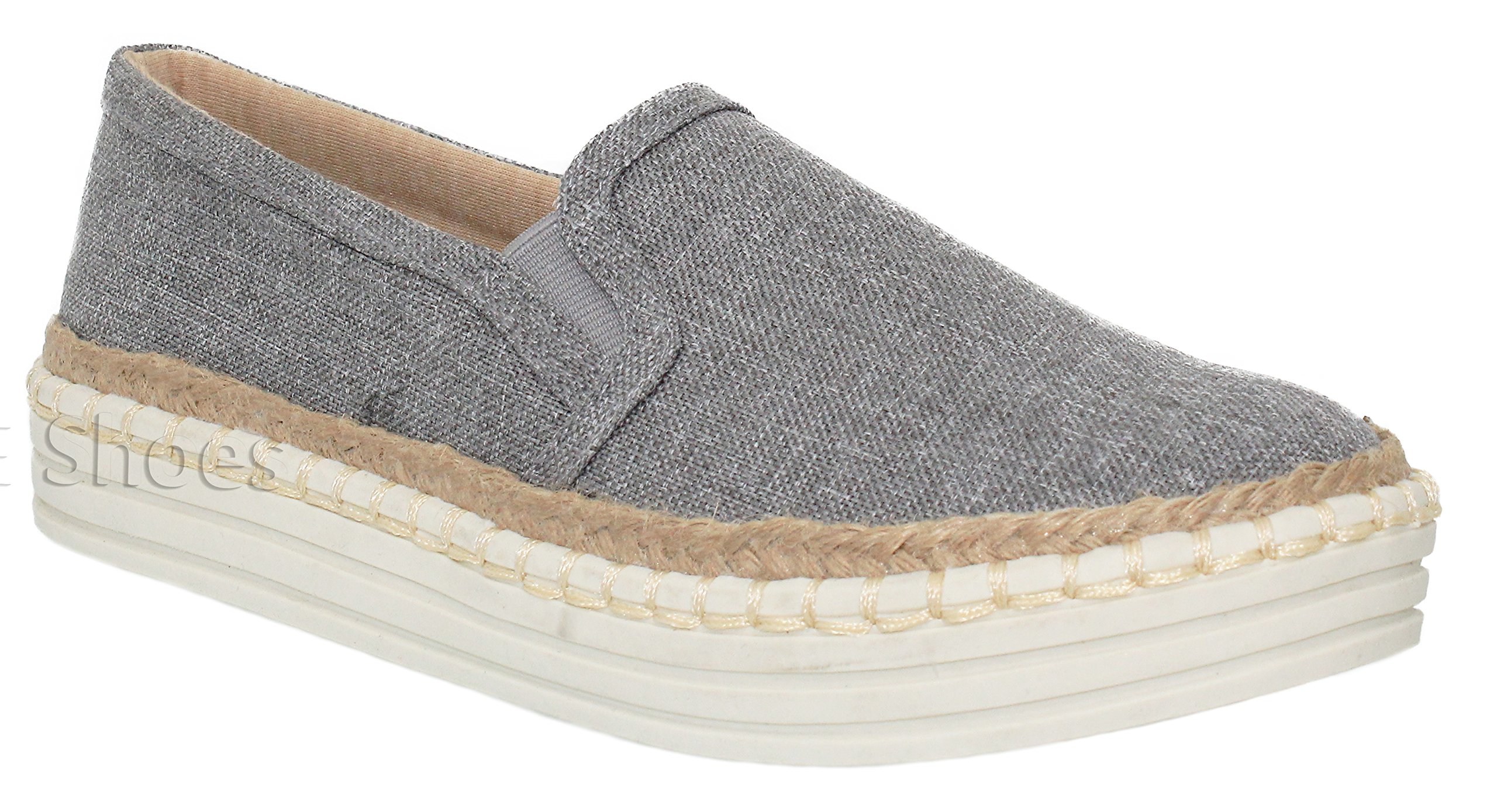 MVE Shoes Womens Perforated Slip-On Fashion Sneaker