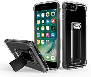 Scooch Wingman Case for iPhone 8 Plus (Also fits 7 Plus, 6s Plus, and 6 Plus) (Clear)