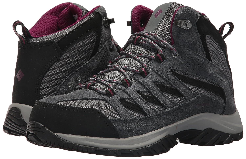 Columbia Women's Crestwood Mid Waterproof Hiking Boot B06W9GJ149 8.5 Dark B(M) US|Ti Grey Steel, Dark 8.5 Raspberry 6fd3d7