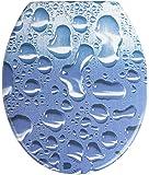 Wenko Aqua - Asiento de inodoro, de porcelana, color blanco