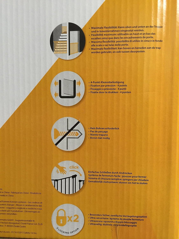 Safety1st quick Close + Türschutzgitter: Amazon.de: Haustier