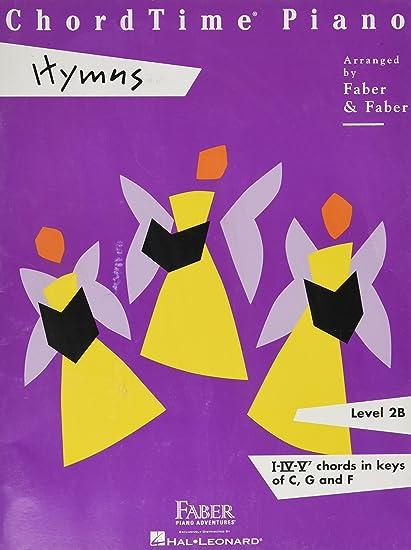 Amazon Faber Piano Adventures Chordtime Piano Hymns Book Level