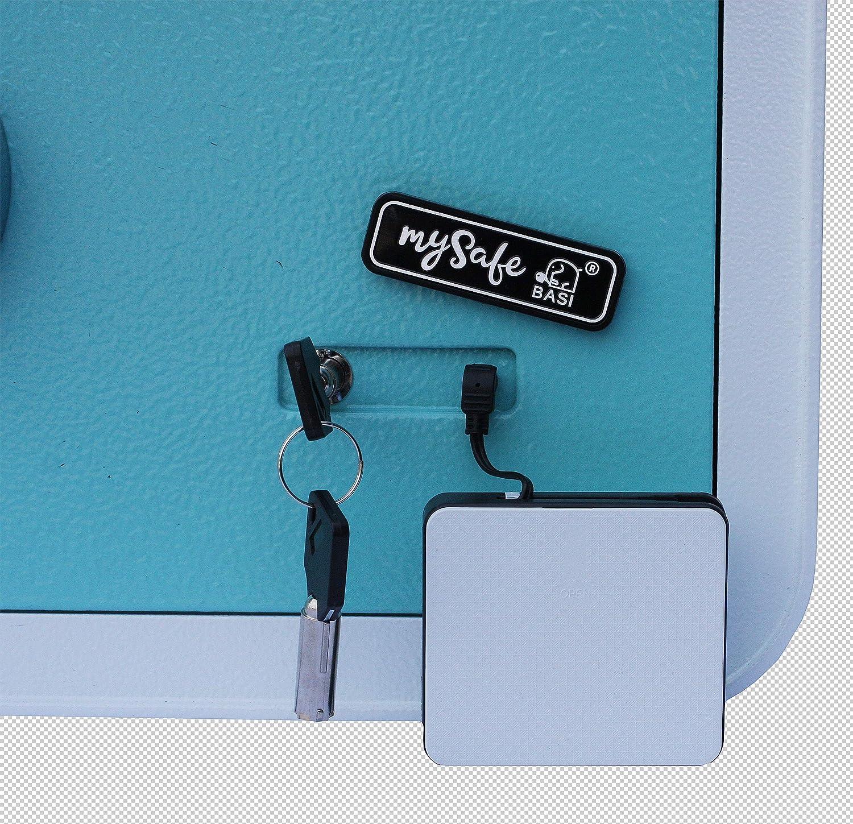 cassaforte con impronta digitale taglia 350 vari colori disponibili MySafe nero