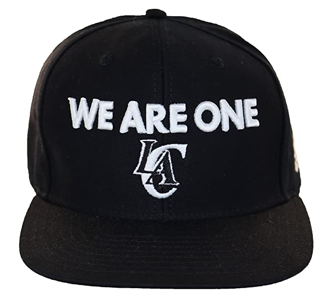 f8d9edc1d9d Amazon.com   Adidas Men s We Are One Los Angeles Clippers Snapback Cap One  Size Black White   Sports   Outdoors