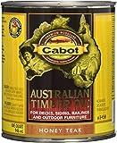 Cabot Stains 3458 Australian Timber Oil for Decks & Outdoor Furniture, 1 quart, Teak