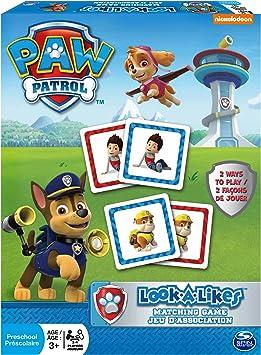 PAW PATROL Juego de Memoria de La Patrulla Canina: Spin Master: Amazon.es: Juguetes y juegos