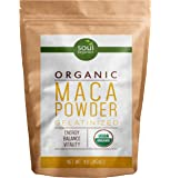 #1 Maca Powder, Organic, Pure and Certified - Gelatinized from Raw for Enhanced Absorption, Vegan, Non-GMO, 1lb, FREE Recipe eBook
