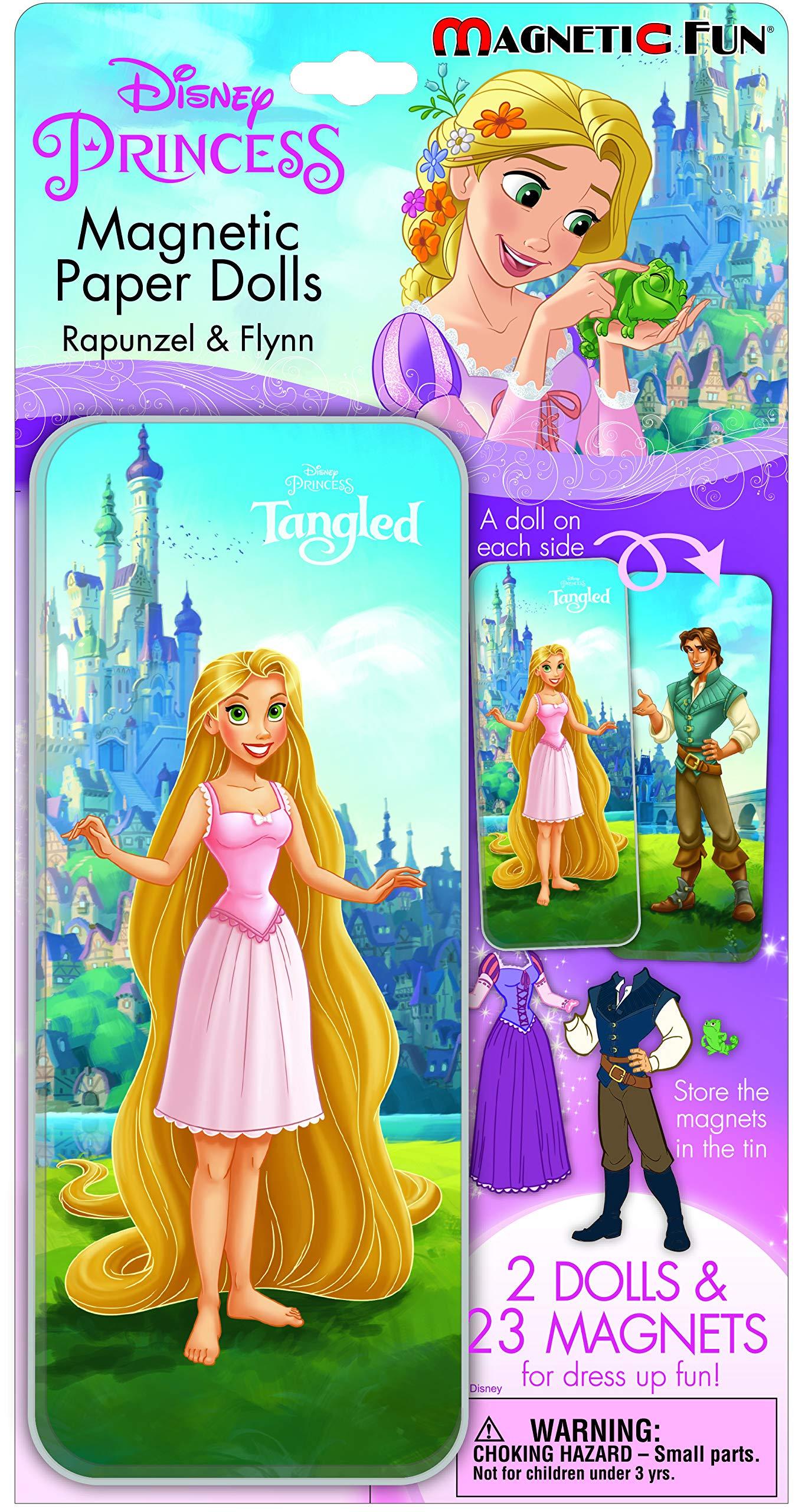 Magnetic Fun Mini Tin: Disney Princess - Tangled