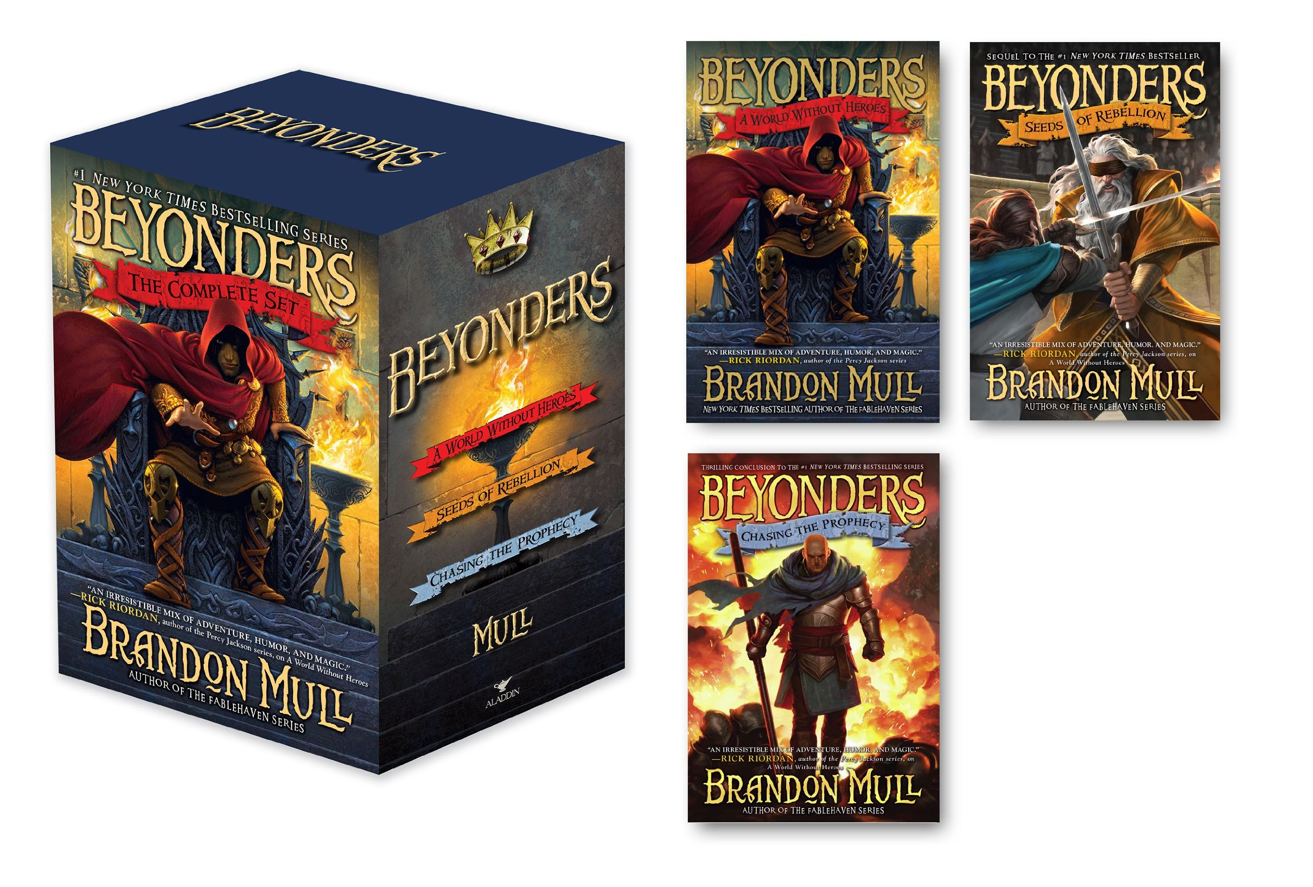 A World Without Heroes (Beyonders, Book 1)