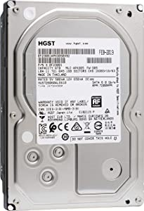 HGST Ultrastar 7K6000 HUS726060ALE610 (0F23001) 6TB 7200 RPM 128MB Cache SATA 6.0Gb/s 3.5in Enterprise Hard Drive (Renewed) w/3 Year Factory Warranty