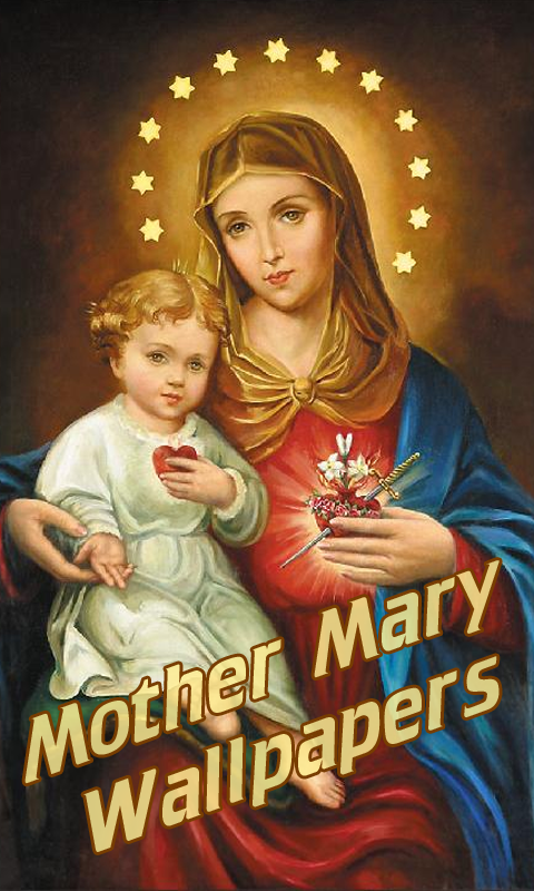 Download mother mary 240 x 320 wallpapers 1309208 mary mother.