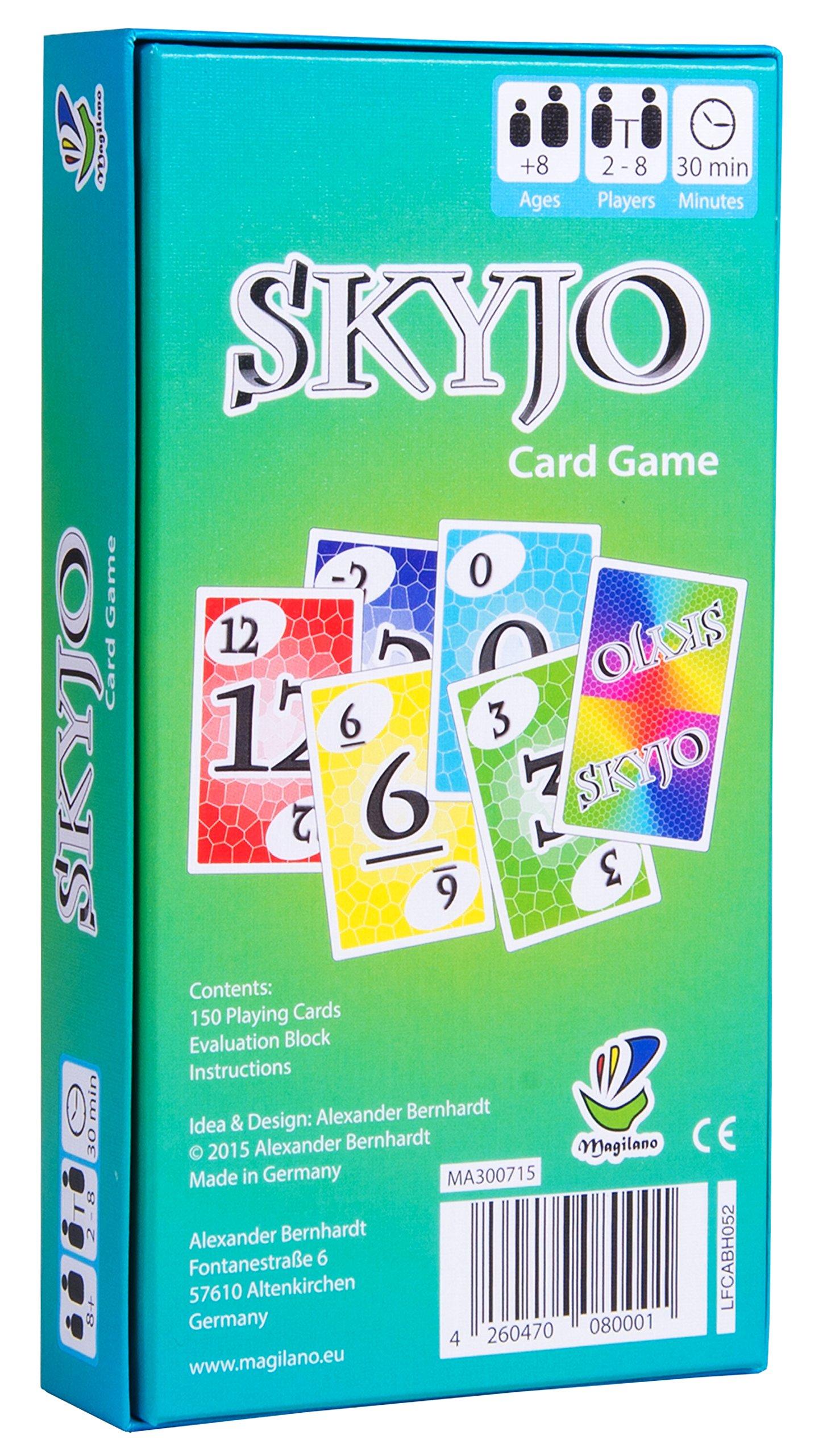 Comprar SKYJO de Magilano- El juego de cartas definitivo para niños y adultos.