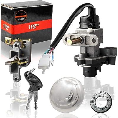 1PZ IKS-301 Ignition Switch Key Set for 50cc 150cc Moped Scooter Retro Schwinn Graduate TNG Milano: Automotive