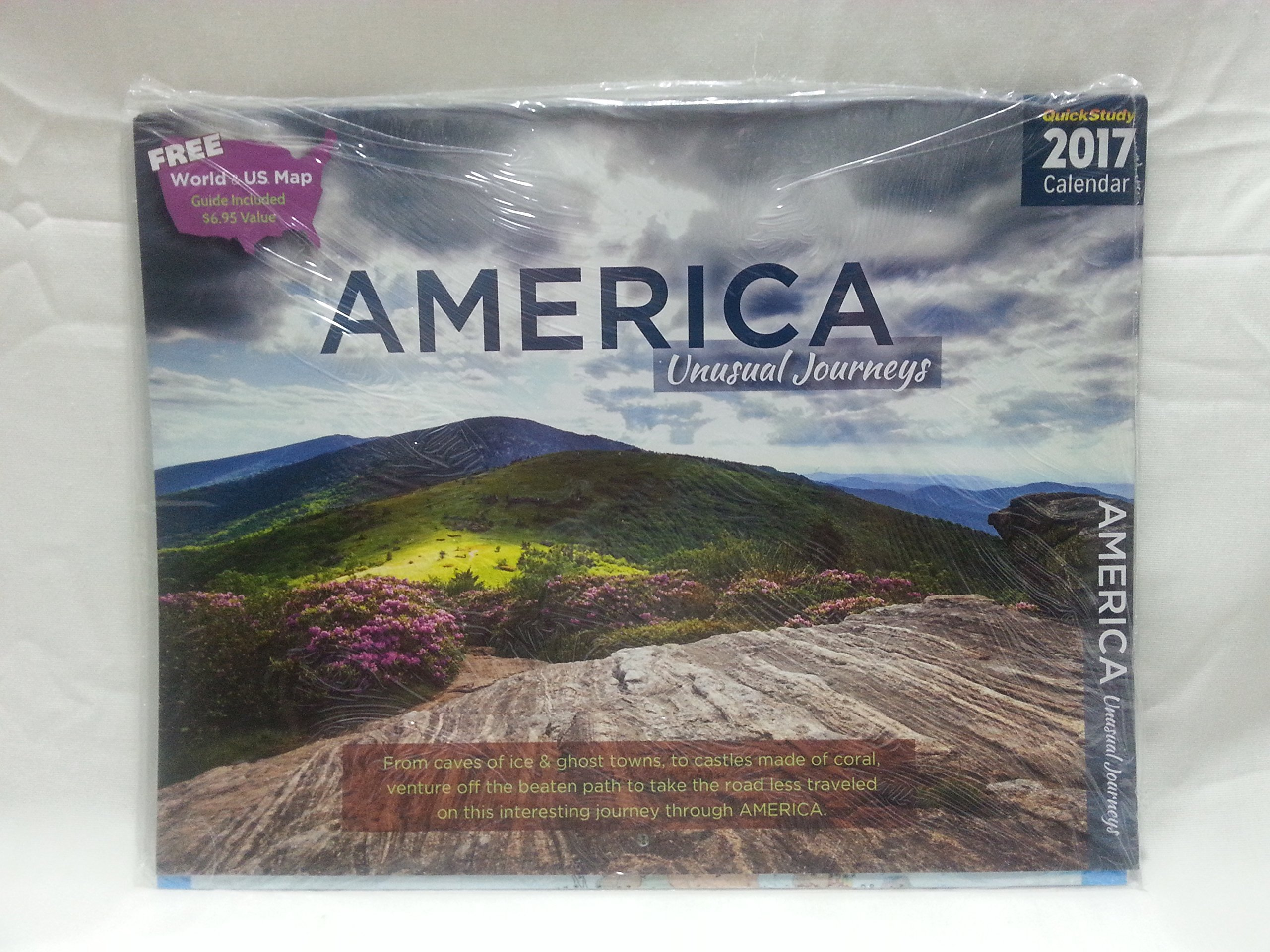 america unusual journeys 2017 calendar