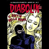 DIABOLIK (109): Il soffio della morte (Italian Edition)