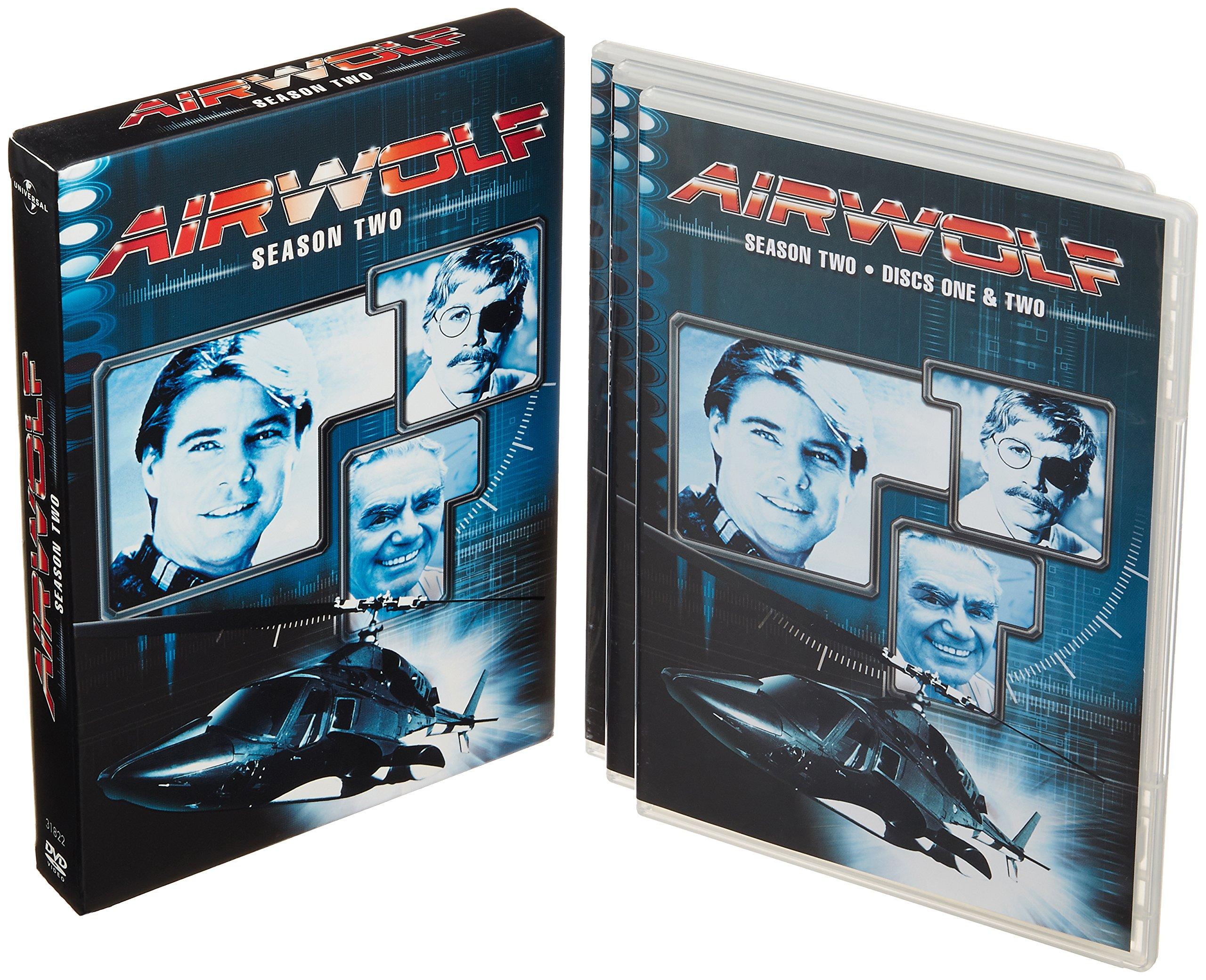 DVD : Airwolf: Season Two (Full Frame, Dolby, , Digipack Packaging, Slipsleeve Packaging)