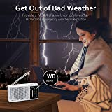 NOAA Weather Radio - Emergency NOAA/AM/FM Portable